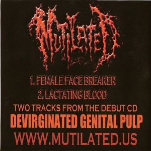 Mutilated - Promo 2003 cover art