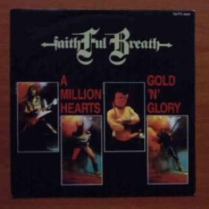Faithful Breath - A Million Hearts / Gold 'n' Glory cover art