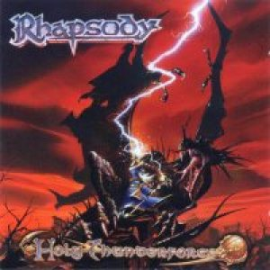 Rhapsody - Holy ThunderForce cover art