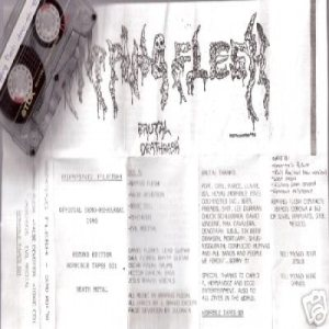 Ripping Flesh - Rehearsal Demo 4/2/90 cover art