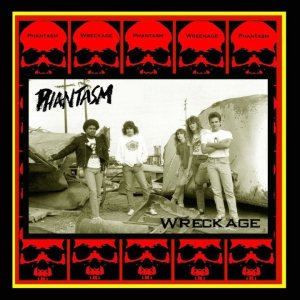 Phantasm - Wreckage cover art