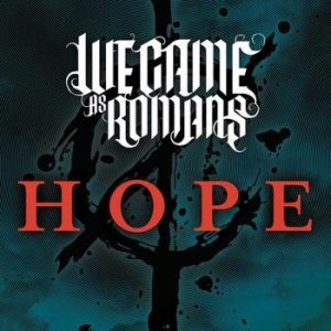We Came As Romans - Hope cover art