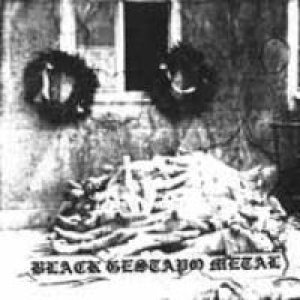 Gestapo 666 - Black Gestapo Metal cover art