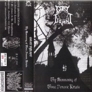 Goat Tyrant - Thy Summoning of Three Demonic Rituals cover art