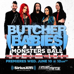 Butcher Babies - Monsters Ball cover art
