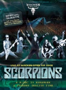 Scorpions - Live At Wacken Open Air 2006: a Night to Remember cover art