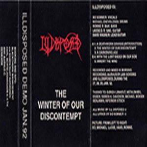Illdisposed - The Winter of Our Discontempt cover art