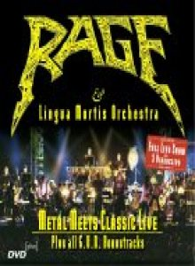 Rage - Metal Meets Classic Live cover art