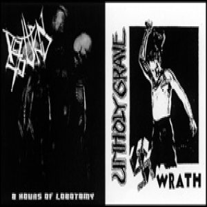 Unholy Grave - 8 Hours of Lobotomy cover art