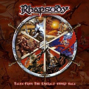 Rhapsody - Tales From the Emerald Sword Saga cover art