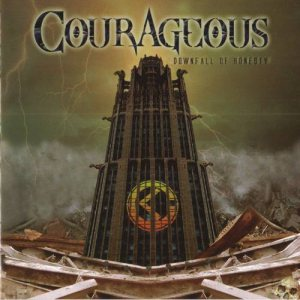 Courageous - Downfall of Honesty cover art