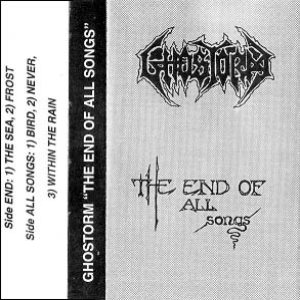 Ghostorm - The End of All Songs cover art