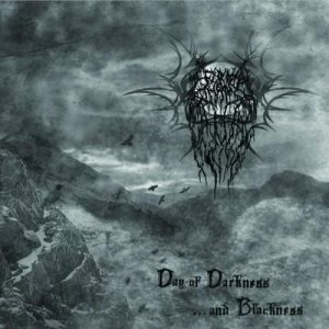 Fire Throne - Day of Darkness and Blackness cover art
