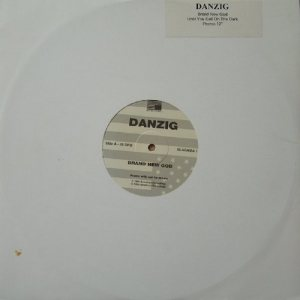 Danzig - Brand New God / Until You Call on the Dark cover art