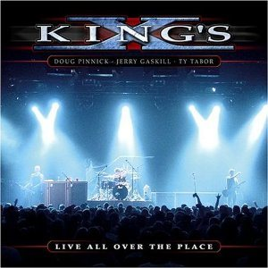 King's X - Live All Over the Place cover art