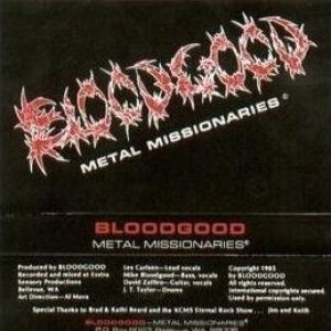 Bloodgood - Metal Missionaries cover art