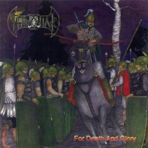 Thronar - For Death and Glory cover art