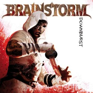 Brainstorm - Downburst cover art