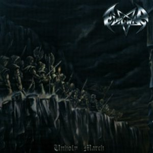 Evilwar - Unholy March cover art