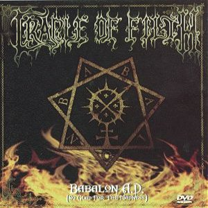 Cradle of Filth - Babalon A.D. cover art