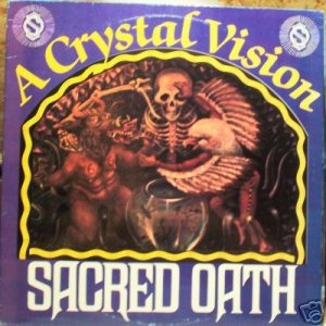 Sacred Oath - A Crystal Vision cover art