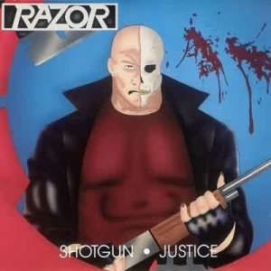 Razor - Shotgun Justice cover art