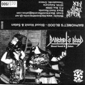 Baphomet's Blood - Blood Vomit and Satan cover art
