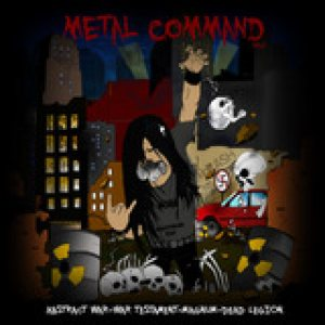 War Testament - METAL COMMAN SPLIT cover art