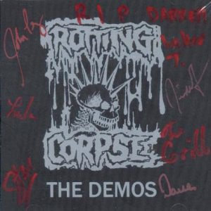 Rotting Corpse - The Demos cover art