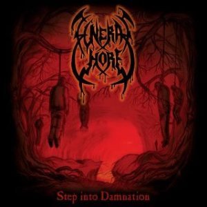 Funeral Whore - Step into Damnation cover art