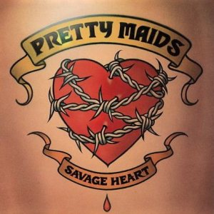Pretty Maids - Savage Heart cover art