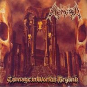Enthroned - Carnage in Worlds Beyond cover art