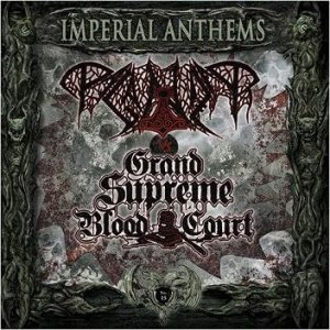 Paganizer / Grand Supreme Blood Court - Imperial Anthems No. 15 cover art