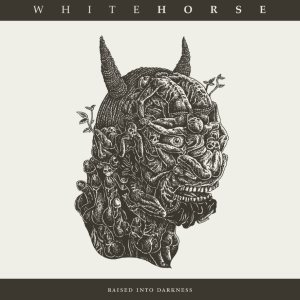 Whitehorse - Raised into Darkness cover art