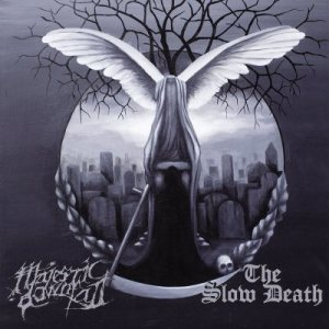 The Slow Death - Majestic Downfall / the Slow Death cover art