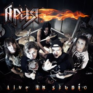 Aria - Live in Studio cover art