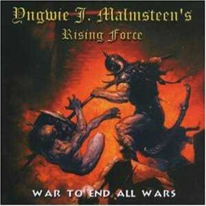 Yngwie Malmsteen - War to End All Wars cover art