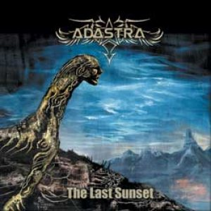 Adastra - The last sunset cover art