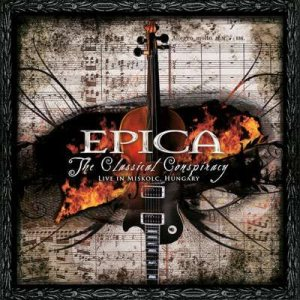 Epica - The Classical Conspiracy cover art