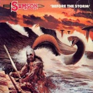 Samson - Before the Storm cover art