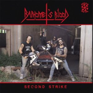 Baphomet's Blood - Second Strike cover art