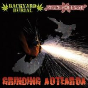 Backyard Burial - Grinding Aotearoa cover art