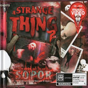 Sopor Aeternus and the Ensemble of Shadows - A Strange Thing to Say cover art