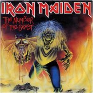 Iron Maiden - The Number of the Beast cover art