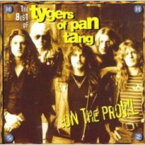 Tygers Of Pan Tang - On the Prowl: the Best of cover art