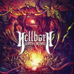 Hellborn Death Engines - Welcome to the Hellmouth cover art