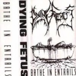 Dying Fetus - Bathe in Entrails cover art