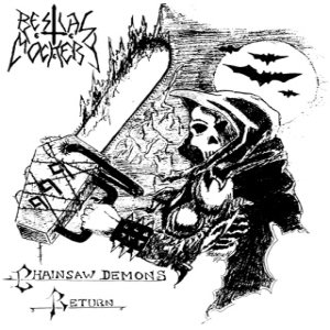 Bestial Mockery - Chainsaw Demons Return cover art