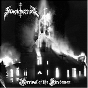 Blackhorned - Arrival of the Firedemon cover art