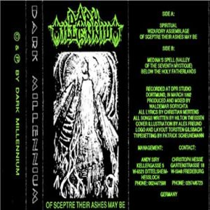Dark Millennium - Of Sceptre Their Ashes May Be cover art